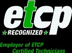 Employer of etch certified technicians